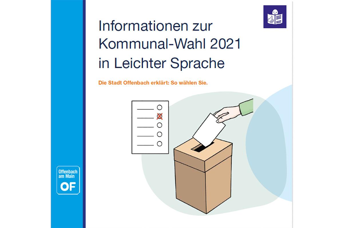Wahl-Informationen in Leichter Sprache