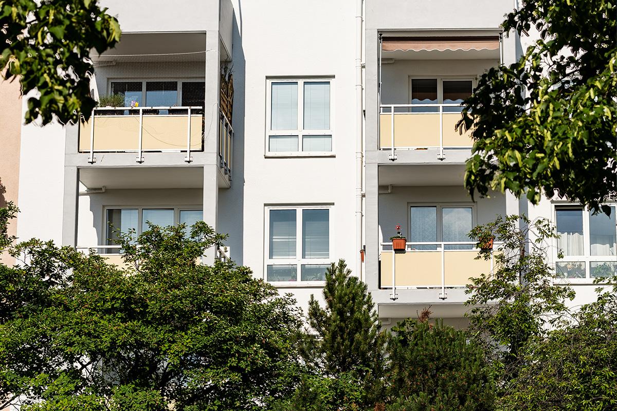 Ansicht der Wohngruppe Martin-Luther-Park