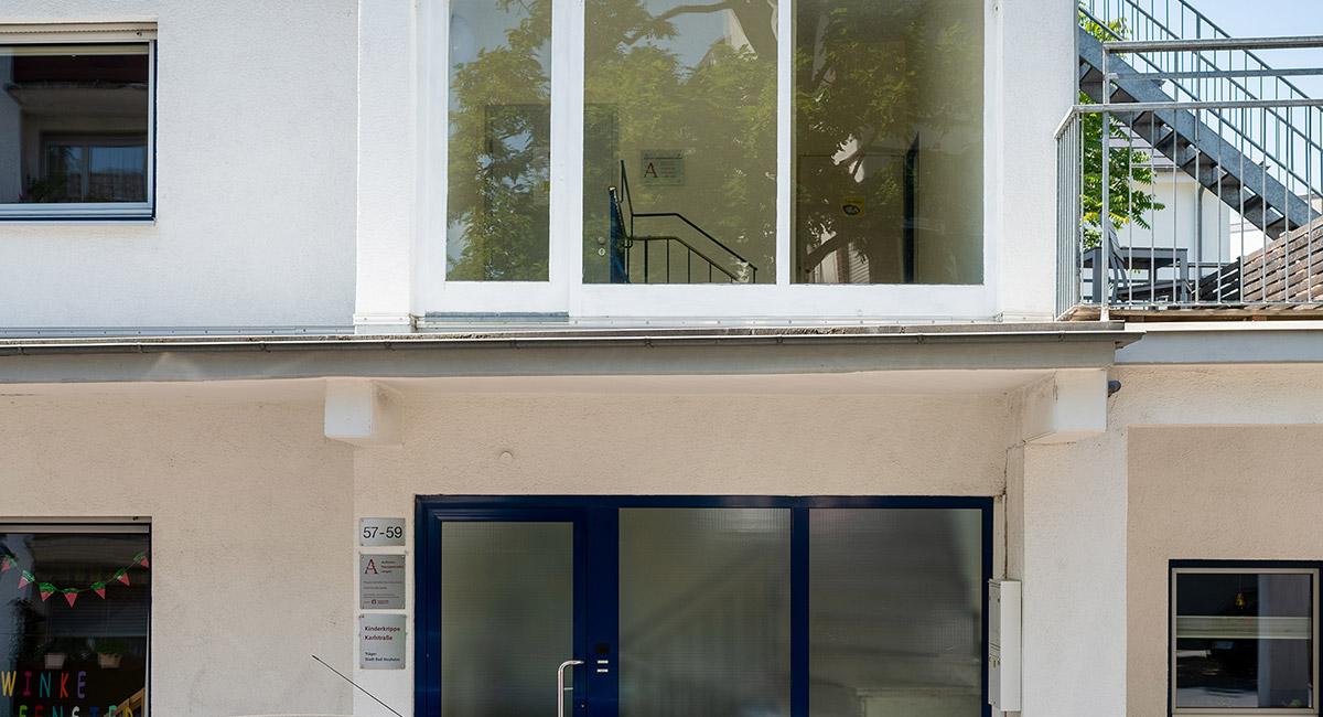 Das Gebäude der Regionalstelle Bad Nauheim