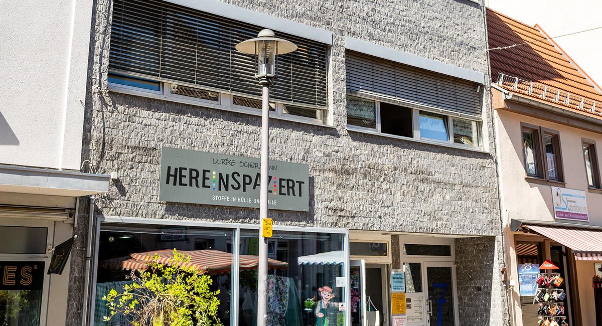 Das Gebäude der Regionalstelle Heppenheim