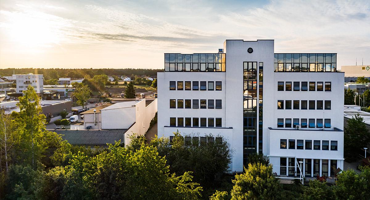 Das Gebäude des Autismus-Therapieinstituts Langen