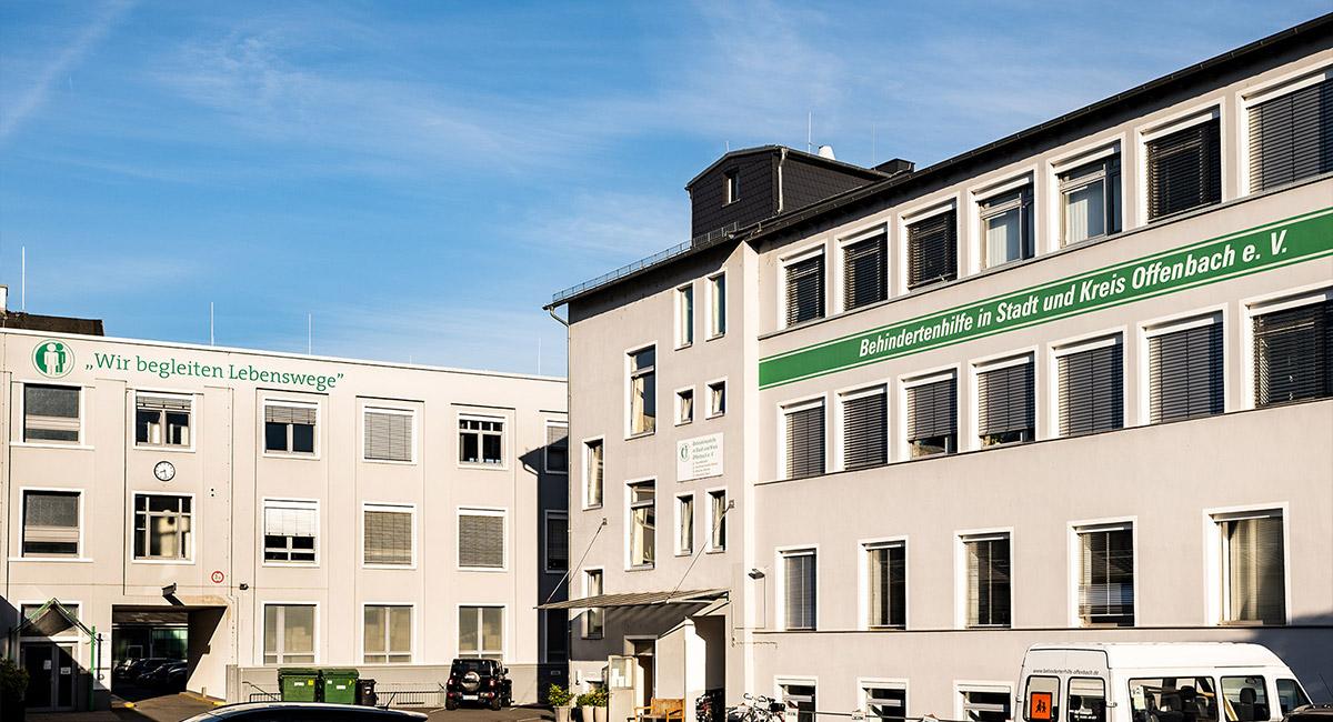 Das Gebäude der Regionalstelle Offenbach