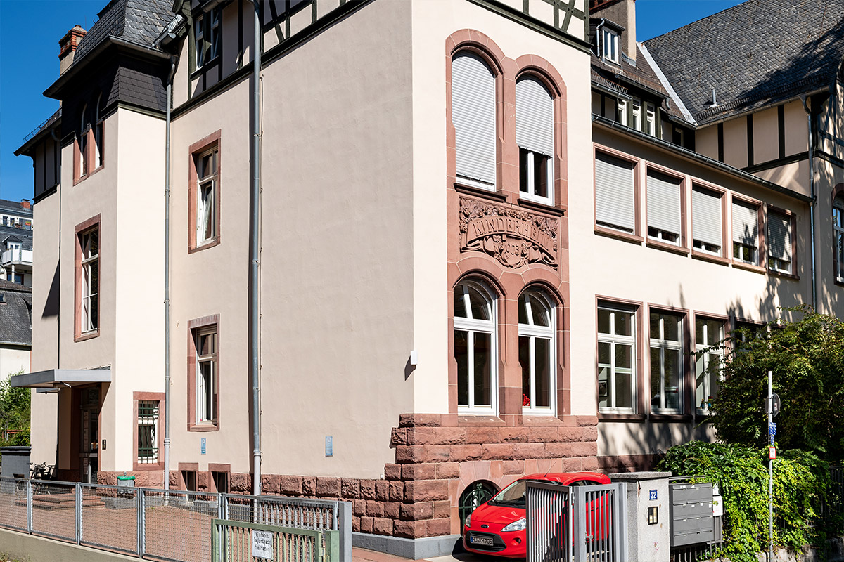 Das Gebäude der Regionalstelle Frankfurt
