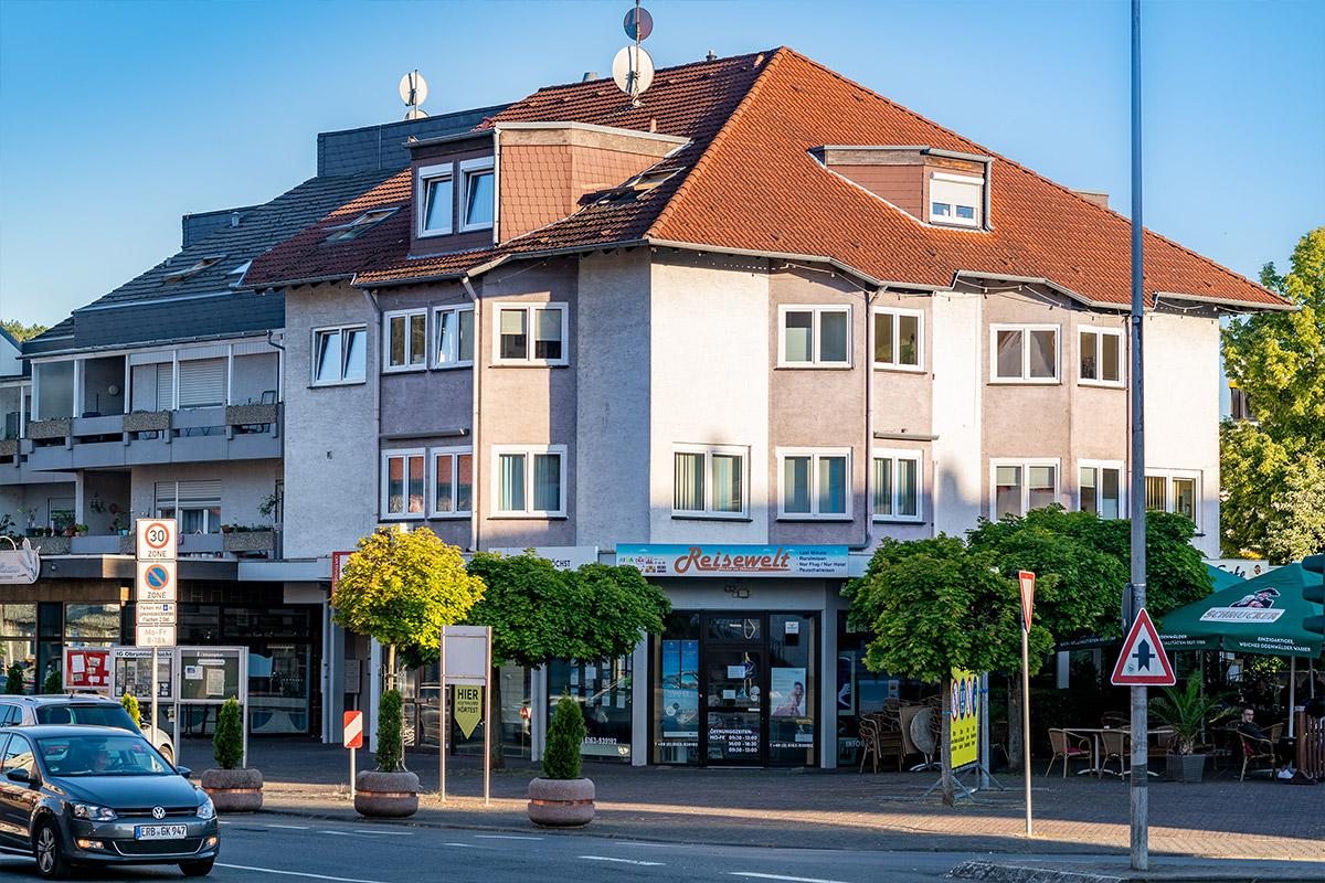 Das Gebäude der Regionalstelle Höchst im Odenwald