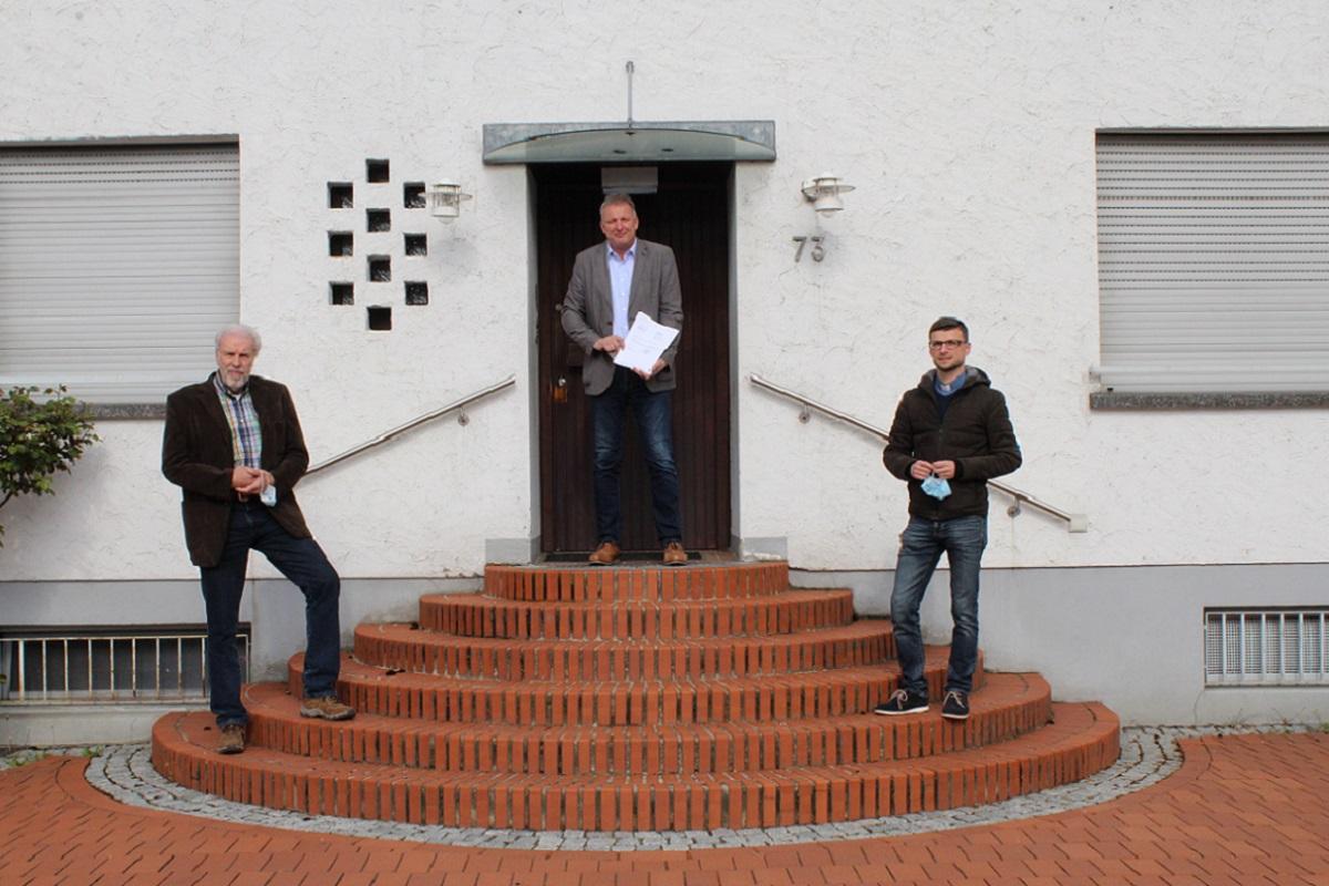 Presseartikel: Wohngemeinschaft bezieht Pfarrhaus