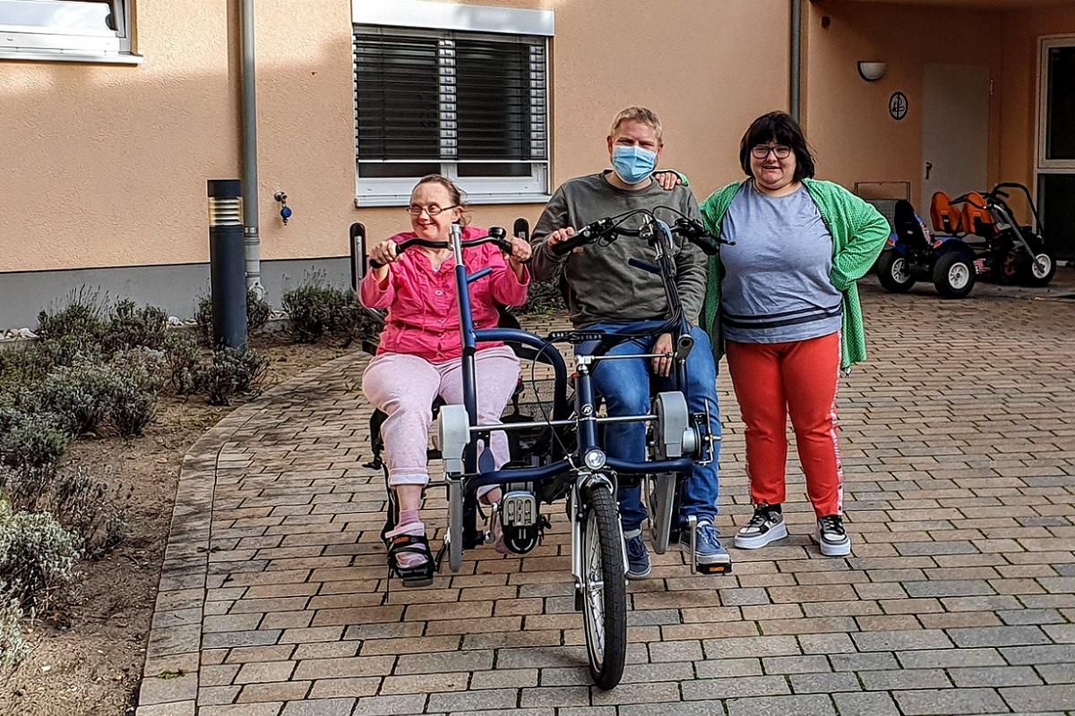Wohnanlage Obertshausen freut sich über neues E-Tandem