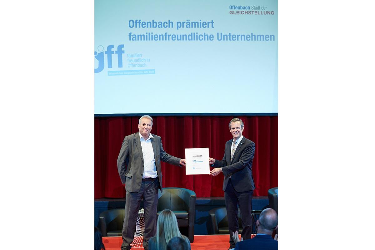 Behindertenhilfe Offenbach ausgezeichnet als familienfreundliches Unternehmen